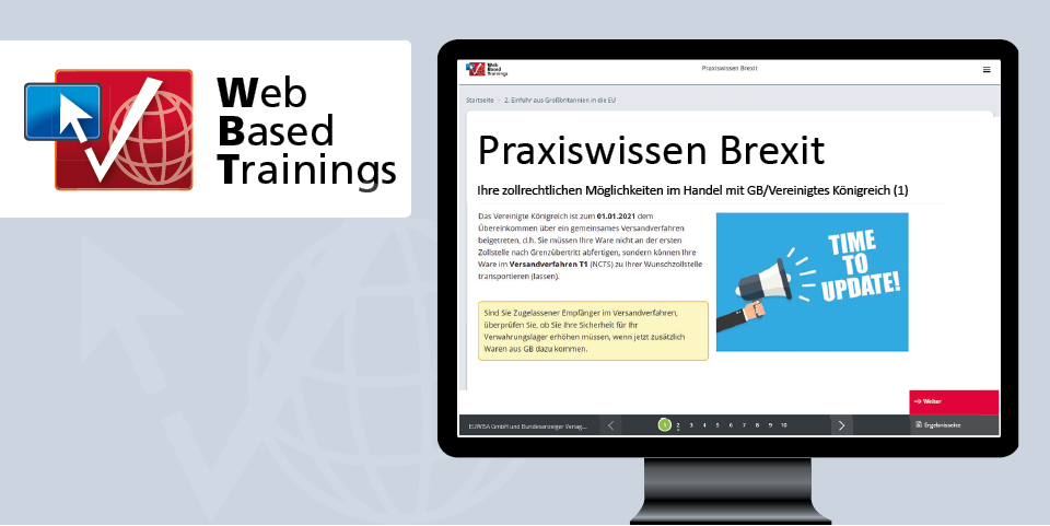 Web Based Training: Praxiswissen Brexit