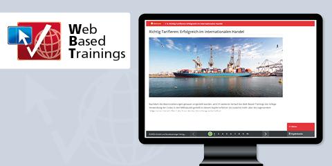 Web Based Training: Einreihung und Warennummern