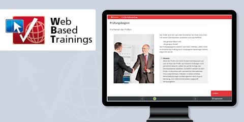 Web Based Training: Prüfungsanordnung und jetzt?