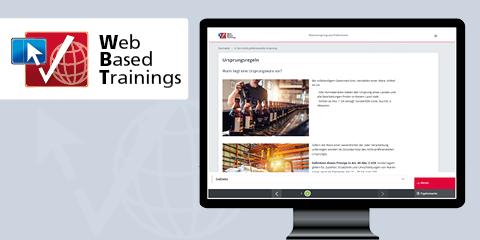 Web Based Training: Warenursprung und Präferenzen - Die Sonderregeln